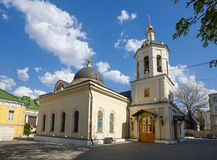 Church of the apostle James the son of Zebedee. Moscow, Russia. Stock Image