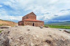 Church Apostoli. The cave city. Uplistsikhe. Georgia. Royalty Free Stock Photo