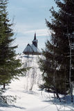 Church from Apuseni. Wood church from Cluj County Stock Photography