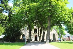 Church in Arboga. Church of the Holy Trinity Heliga Trefaldighets Kyrka, Arboga, Sweden Royalty Free Stock Photos