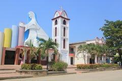 Church of Arboletes, Antioquia, Colombia. Royalty Free Stock Photography