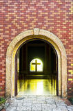 Church Arch Entrance Stock Image