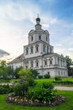 Church of the Archangel Michael in Andronikov Monastery, Moscow. Stock Images