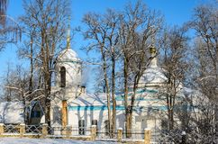 The church of the Archangel Michael. In the village of Kutepov Royalty Free Stock Image
