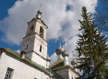 Church of the Archangel Michael on the Forest Stock Images