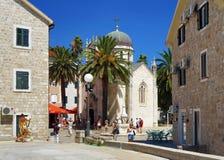 Church of Archangel Michael in Herceg Novi Royalty Free Stock Photography