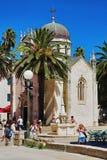 Church of Archangel Michael in Herceg Novi, Monten Stock Image