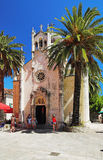 Church of Archangel Michael in Herceg Novi, Monten Royalty Free Stock Photo