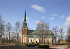 Church of Archangel Michael in Mora. Sweden.  Stock Photos