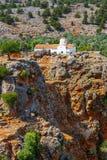 Church of Archangel Michael. Over Aradena George in Aradena, Crete Stock Image