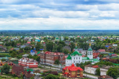 Church  Archangel Michael in Tobolsk  centre top view Royalty Free Stock Image