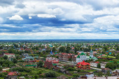 Church  Archangel Michael in Tobolsk  centre top view Stock Photo