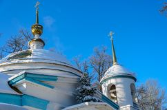 The church of the Archangel Michael. In the village of Kutepov Stock Photography