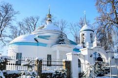 The church of the Archangel Michael. In the village of Kutepov Royalty Free Stock Photography