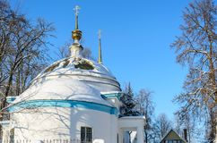 The church of the Archangel Michael. In the village of Kutepov Royalty Free Stock Images