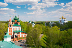 The church of Archangel Michael in Yaroslavl. Golden ring, Russia. royalty free stock images