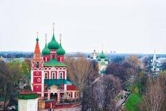 Church of Archangel Michael in Yaroslavl Russia. Church of Archangel Michael in Yaroslavl in Russia stock images