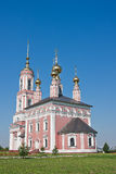 Church of Archangel Mikhail and Flora and Lavra Stock Images
