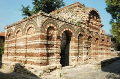 Church of Archangels Michael and Gabriel,Nesebar Royalty Free Stock Image