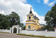Church Archistrategos Michael in the village of Lermontovo Royalty Free Stock Images