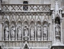 Church architectural detail Stock Photography