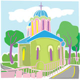 Church architecture Stock Image