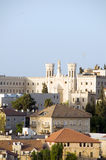 Church and architecture Jerusalem Israel Royalty Free Stock Photo