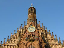 Church architecture in Nuremburg Stock Photo
