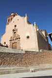 Church,Arcos de las Salinas,Teruel, Spain Royalty Free Stock Photography