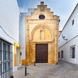 Church in Arcos Stock Image