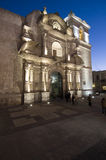 Church at Arequipa Stock Images
