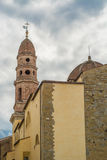 Church of Arezzo Stock Image
