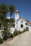 Church at Armacao de Pera in southern Portugal Royalty Free Stock Photo