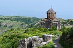 Church in the Armenian Caucasus Stock Images
