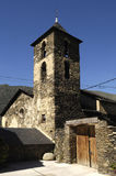 Church of Arros de Cardos in the Cardos Vallery, Pallars Sobira, Stock Images