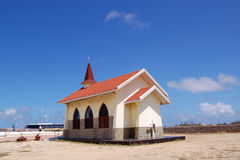Church in Aruba Stock Photo
