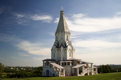 Church of the Ascension. In the park Kolomenskoe Royalty Free Stock Photos