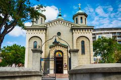 Church of the Ascension, Belgrade Royalty Free Stock Photography