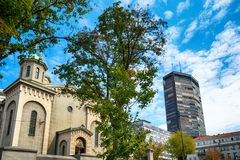 Church of the Ascension, Belgrade Royalty Free Stock Image