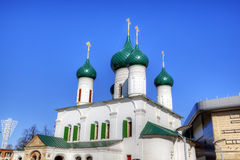 The Church of the Ascension of Christ and Presentation Church. Stock Image