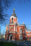 Church of the Ascension - the current Orthodox Church in Kolpino Stock Image