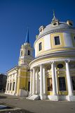 Church of the ascension on Gorokhovoe field Moscow Royalty Free Stock Photos