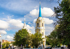 Church of the Ascension of Jesus in Moscow Royalty Free Stock Photo