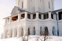 Church of the Ascension in Kolomenskoye, Moscow. Russia, in winter. UNESCO World Heritage Site Stock Images