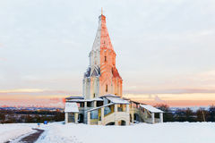 Church of the Ascension in Kolomenskoye, Moscow. Stock Photography