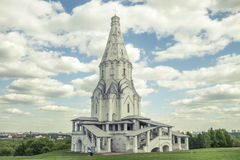 Church of the Ascension in Kolomenskoye. Moscow, Russia Stock Image