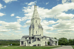 Church of the Ascension in Kolomenskoye. Moscow, Russia Stock Photography