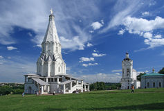 The Church of the Ascension (1532), Kolomenskoye, Moscow, Russia Stock Photography
