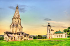 Church of the Ascension in Kolomenskoye, a world heritage site i. N Moscow Royalty Free Stock Photos