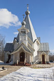Church of the Ascension of the Lord in the city Sokol Vologda region Royalty Free Stock Photography